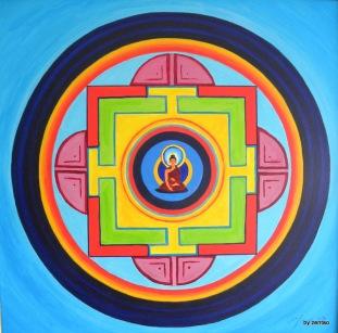 Buddha Mandala 002