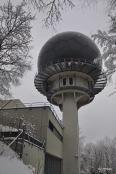 Kuppel der Radarstation Hochwacht