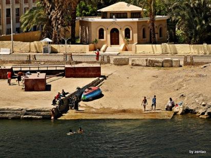 das einfache Leben am Nil