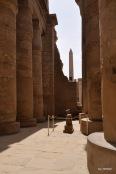 Blick auf einen Obelisk