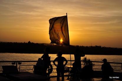 malerischer Sonnenuntergang