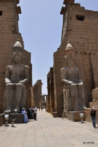 Statue von Ramses II