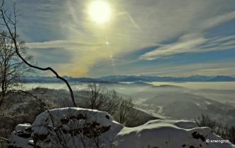 über dem Nebel scheint immer die Sonne