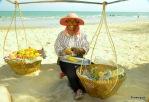 Früchteverkäuferin