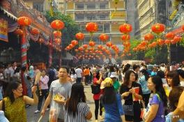Deko für das Chinesische Neujahr