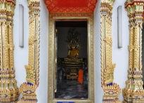 Blick auf den Buddha