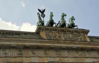 Die Pferde auf dem Brandenburgertor