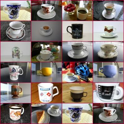 Tassen Sammlung