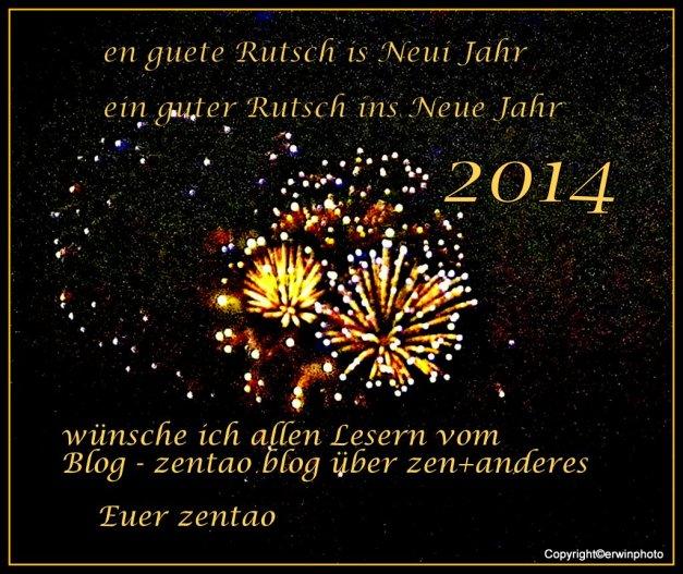 en guete Rutsch...ins 2014