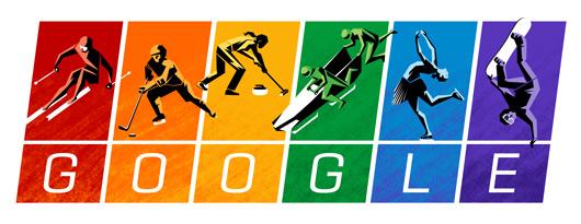 Die Farben der Winterspiele 2014