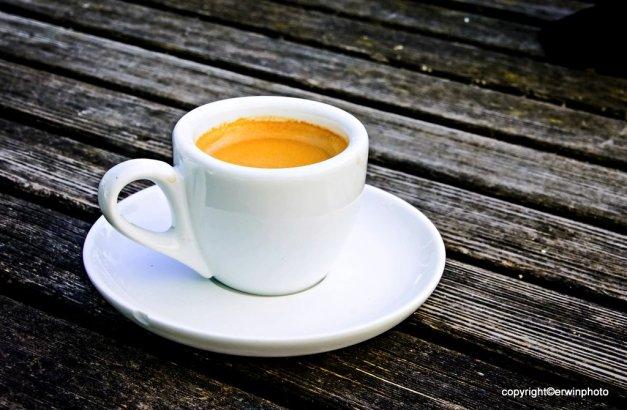 eine kleine Espresso-Pause