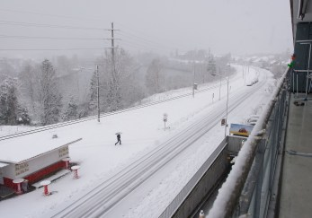 erster Schnee 2014