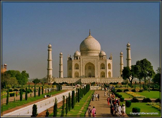 Taj Mahal -INDIEN Rajasthan1998
