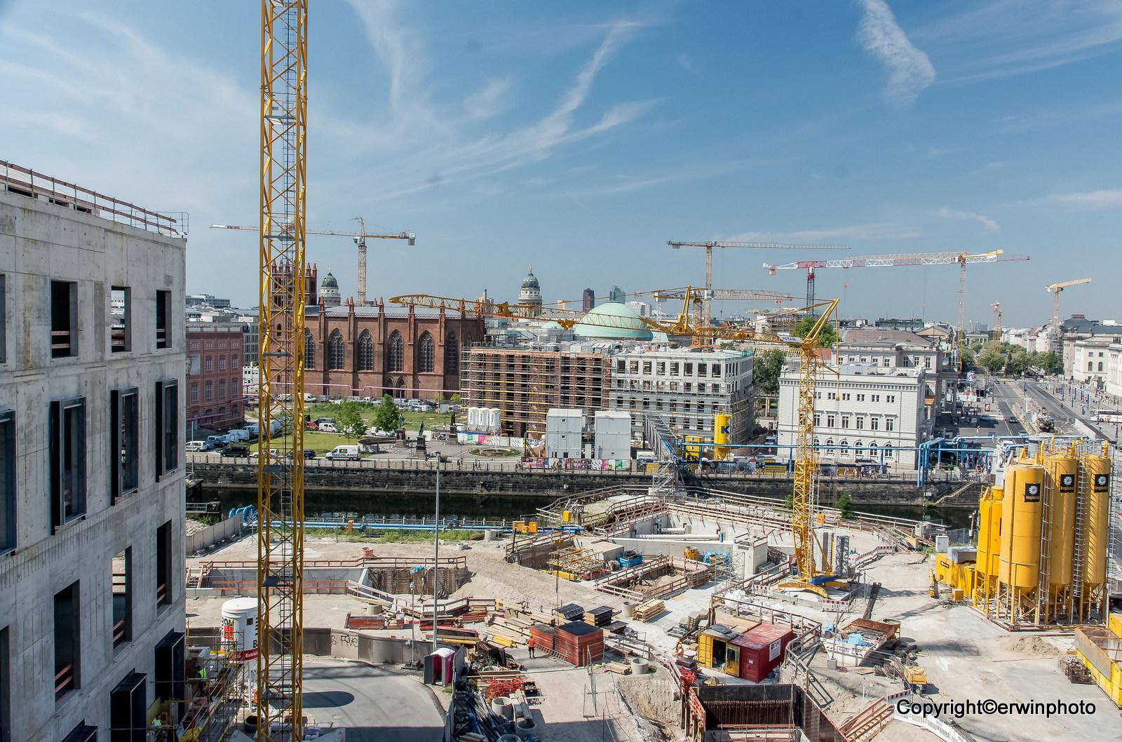 der Bauplatz Berlinerschloss