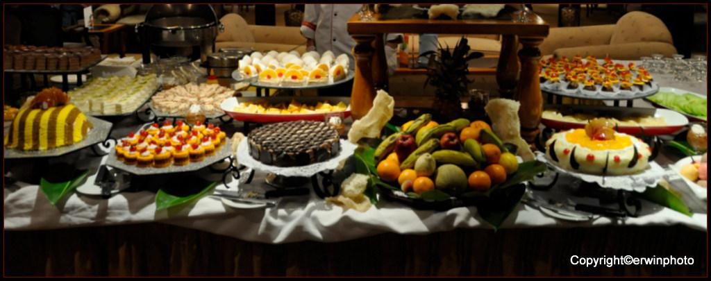 das beliebte Dessertbuffet