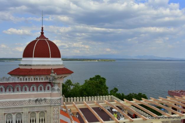 Blick vom Palacio de Valle auf der Halbinsel Gorda