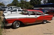 ein schönes altes Auto