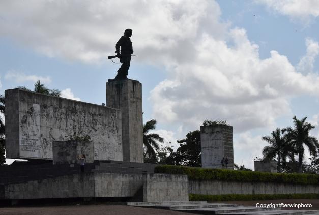 das Monument von Che Guevara