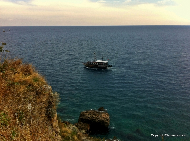 von unserem Ausflug nach Antalia