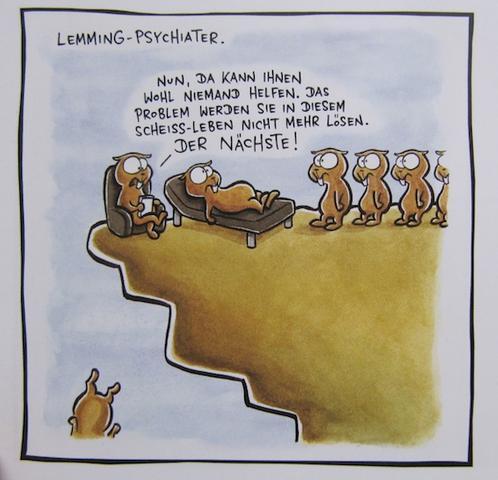 ist das die Zukunft des Lemming-Mensch