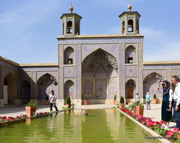 Bāgh-e Eram und Garten