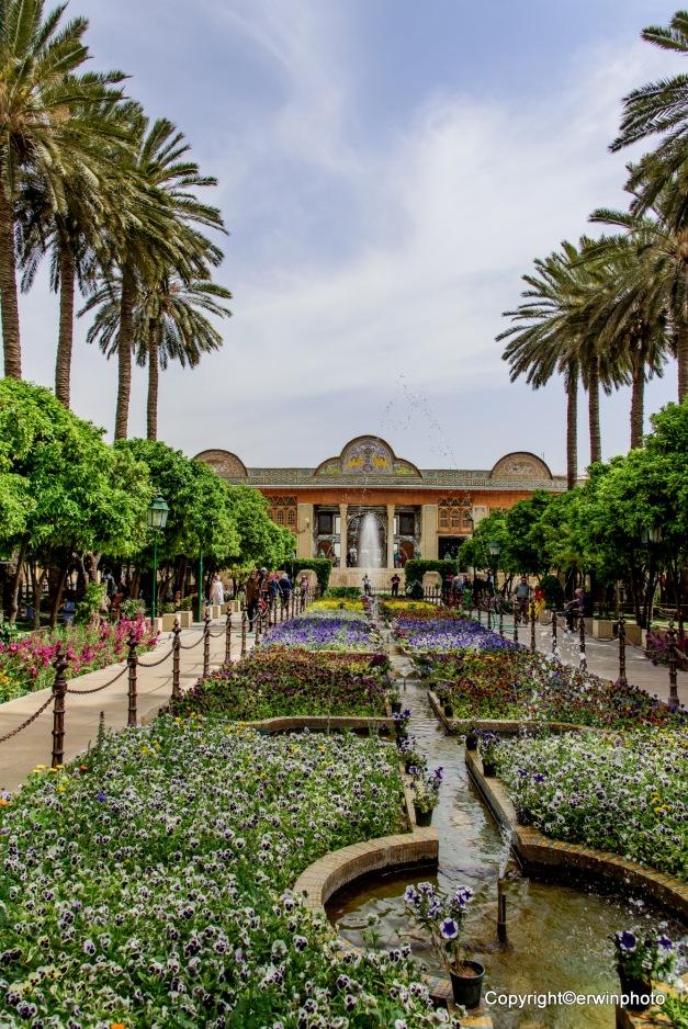 Gartenanlage Qavam House