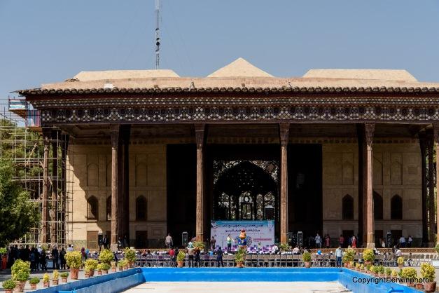 der 40 Säulen Palast