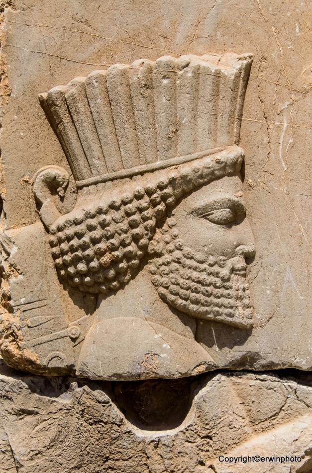 Kopf eines Persischen Kriegers
