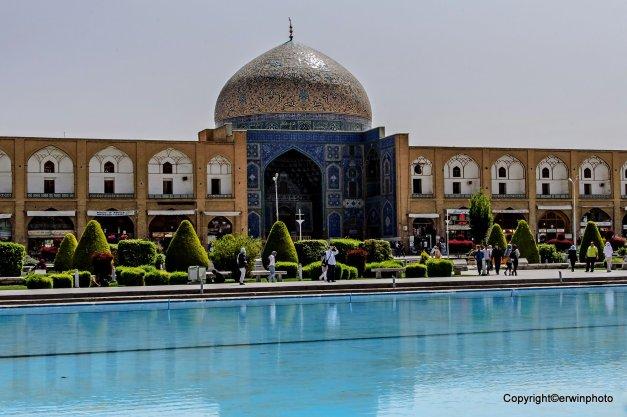 die Königliche Moschee im Ali Quapu Komplex