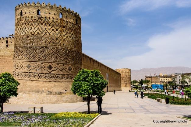 Zitadelle des Karim Khan - der schiefe Turm von Shiraz