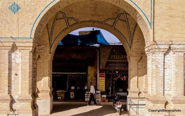 Bazar von Kerman