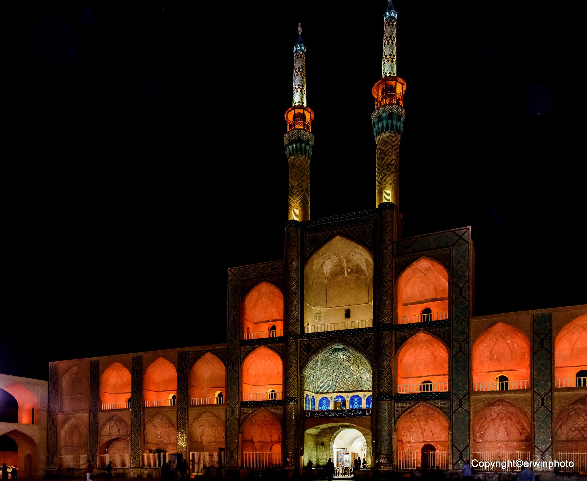 Amir Chakhmaq Moschee