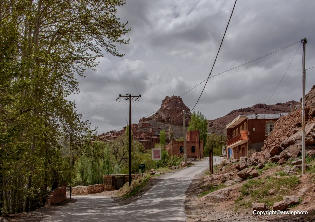 Abyaneh ein Bergdorf