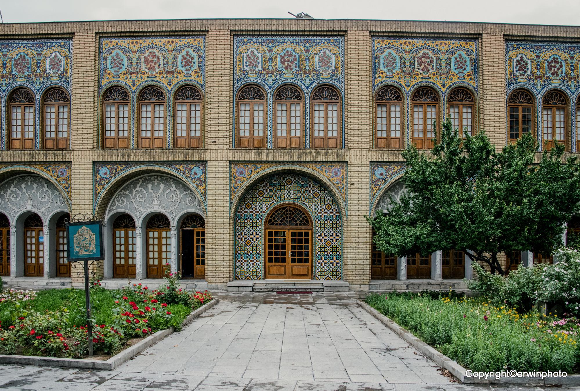 der Golestan Palast