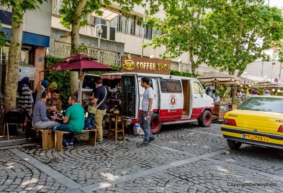 fahrender Coffee Shop
