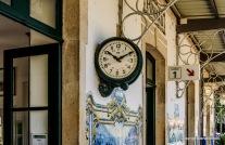 die alte Bahnhofuhr