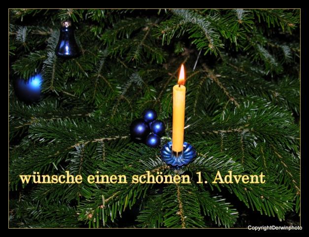 Grüsse zum 1.Advent