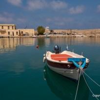Boot im Hafen von Rethymno