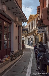 Gasse in Rethymno