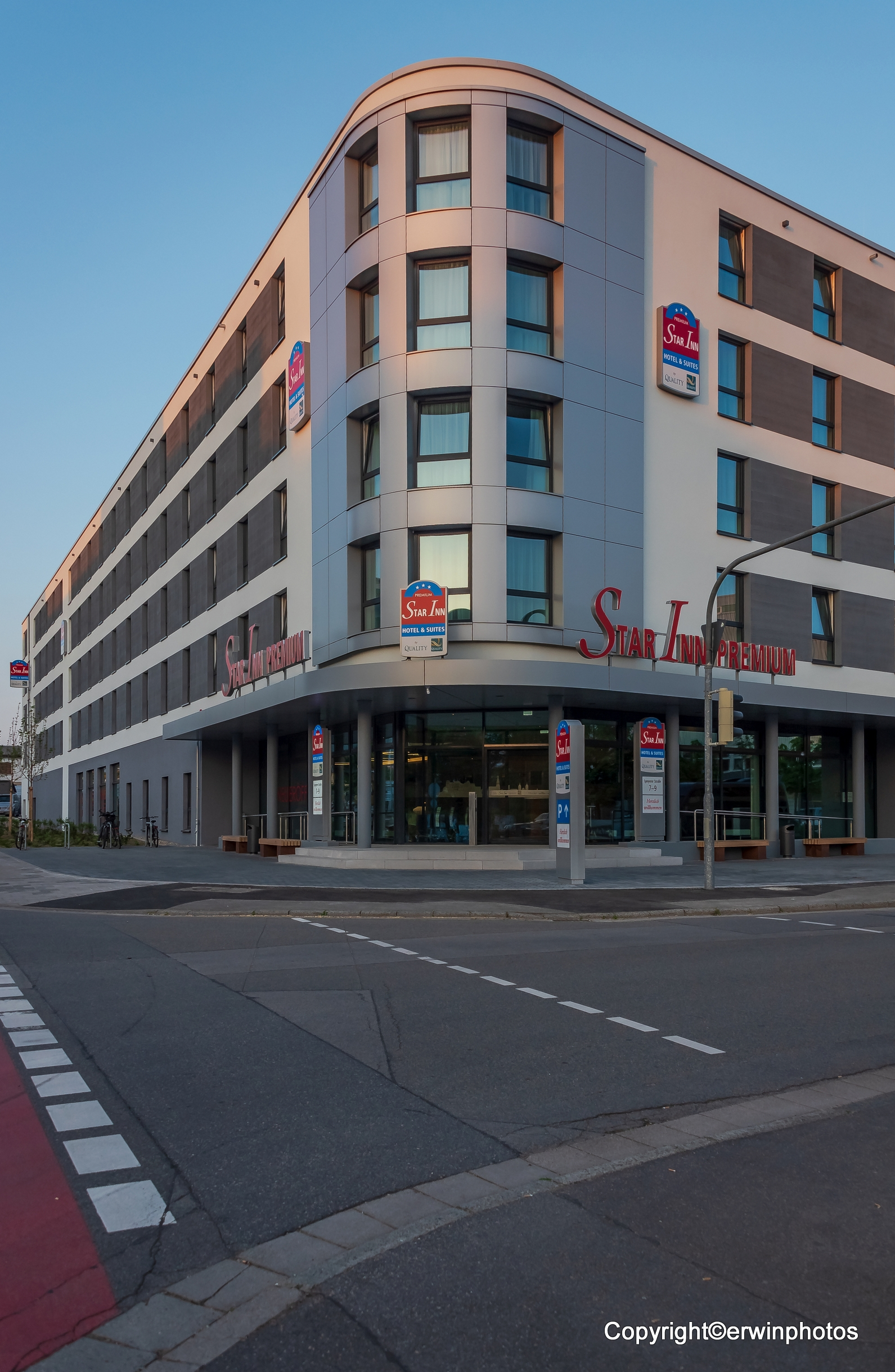 das Hotel Star Inn in Heidelberg