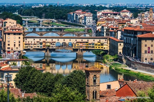 Blick auf Ponte Vecchia
