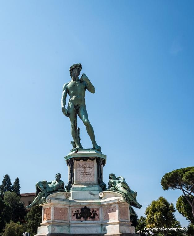 Statue von Michelangelo