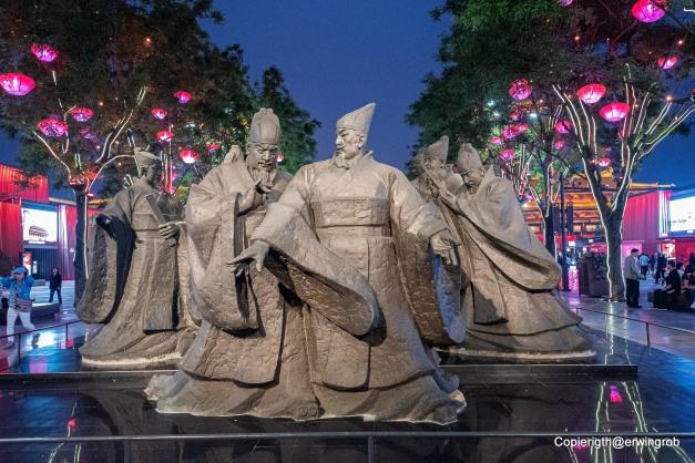 alte Kaiser und Krieger