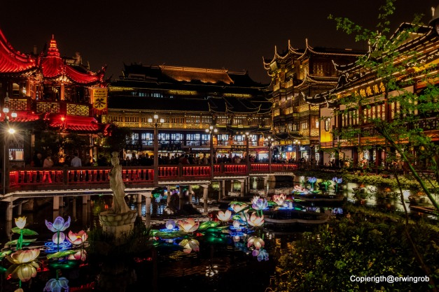 die Altstadt von Shanghai