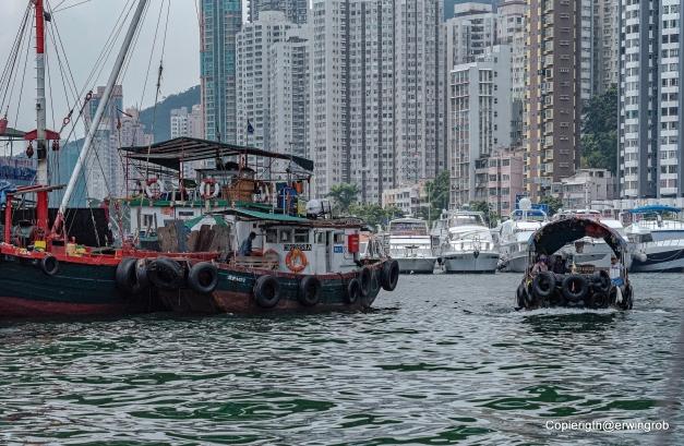 Hochhäuser bis an den Hafen