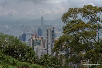 die Hochhäuser von Hongkong