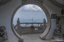 Blick auf Hongkong
