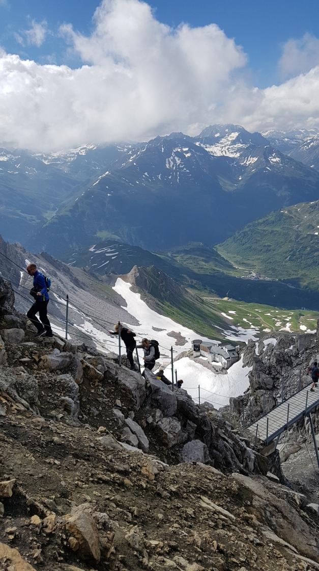 kurz vor dem Gipfel zur Valuga