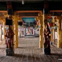Blick in die Tempelhalle