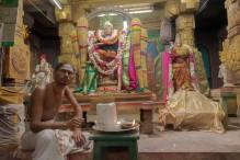 ein Hindu Priester
